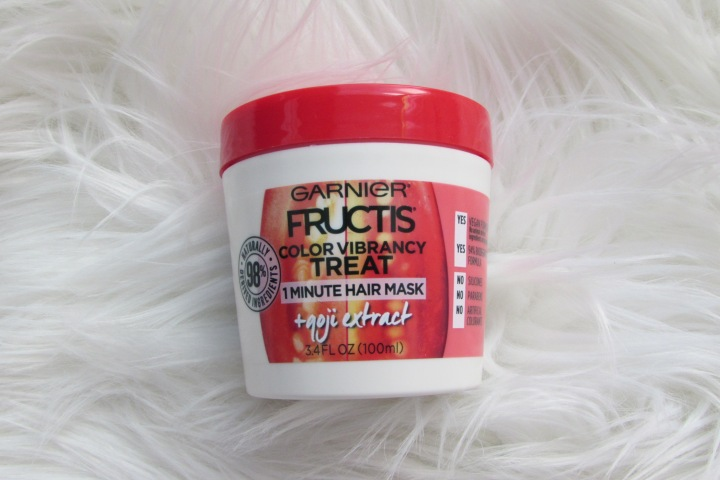 Garnier Fructis Color Vibrancy Treat Hair Mask Review